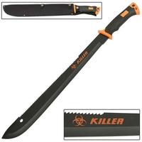 Machette Zombie Killer bolo 60,5cm épée
