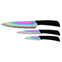 Coffret Pradel Evolution 3 couteaux - titane C82232