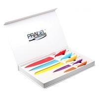 Coffret Pradel Evolution 5 couteaux - couleur