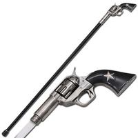 Canne épée 95cm de marche - revolver Texas Ranger