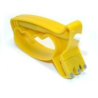 Affuteur aiguiseur universel poignée - jaune