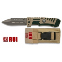 Couteau tactique titane G10 - RUI Tactical