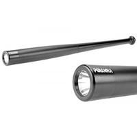 Batte 55cm + lampe torche LED - baton, matraque