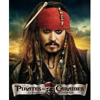 Arme Squelette Pirate des caraïbes - Johnny Deep