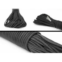 Rouleau paracorde 30 mètres - noir