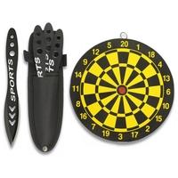 Lot 3 couteaux de lancer + cible incluse - couteau jet