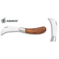 Couteau serpette 18,5cm bois - ALBAINOX