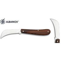 Couteau serpette 16,8cm bois - Albainox