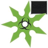 Shuriken étoile Zombie 7 pics - acier inox