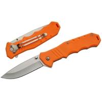 Couteau pliant 19 cm - couleur tendance orange