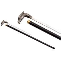Canne épée 85,5cm de marche - métal design Aigle
