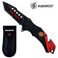 Couteau sapeur pompier 20,5cm tanto - ALBAINOX