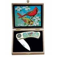Coffret couteau Oiseau nature - collection