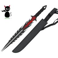 Epée fantastique 66cm Démon - Full tang