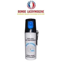 Bombe lacrymogène 50ml GEL défense - Lacrymo protection