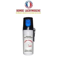 Bombe lacrymogène 50ml GAZ défense - Lacrymo protection