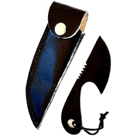 Petit couteau skinner 10,7cm - Tout acier full tang