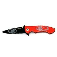 Couteau red Scorpion - pliant de poche