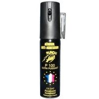 Bombe lacrymogène 25ml GAZ - aérosol spray lacrymo.