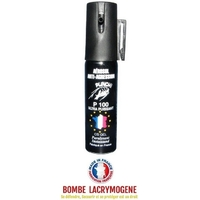 Bombe lacrymogène 25ml GEL CS - aérosol spray lacrymo