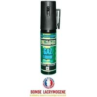Bombe lacrymogène 25ml GAZ JET - aérosol spray lacrymo