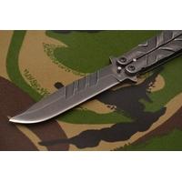Balisong couteau papillon 22cm - Design pierre...