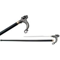 Canne épée 89,5cm dragon de marche - métal