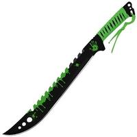 Machette épée Zombie Eradicator 63cm - Full Tang acier.