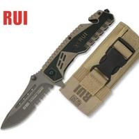 Couteau pliant 20,5cm TITANE militaire G10 - RUI
