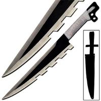 Epée fantastique 50,8cm full tang - Acier inox