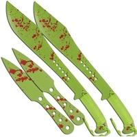 Lot 2 machettes 61cm + 2 couteaux 25cm - machette épée.