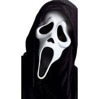 Masque Scream ghost fantome 37,2cm - Halloween.