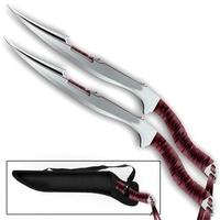 2 épées machettes full tang - Zombie machette épée