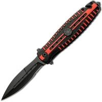 Couteau pliant tactique 20,5cm - Pompier