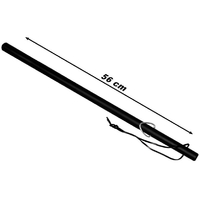 Matraque caoutchouc 56cm baton - résistante et maniable