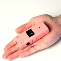 Taser shocker électrique rose - Tazer Power 6 800 000 volts !.