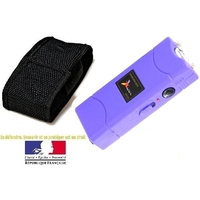 Taser shocker électrique violet - Tazer Power 6 800 000 volts !