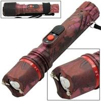 Taser shocker électrique LED - Tazer rose 3 800 000 volts