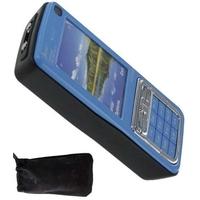 Téléphone portable taser électrique - bleu 1.000.000 volts