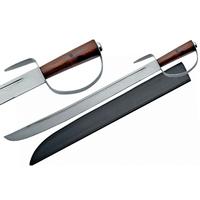 Epée de pirate 80cm manche bois - sabre