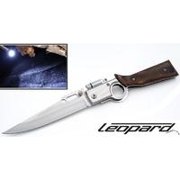 Couteau pliant 25cm LED amovible - Design fusil