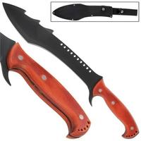 Machette épée 48,5cm Démon fantastique - Full tang