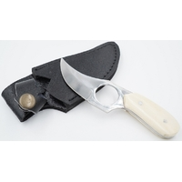 Couteau Skinner 14,5cm Full tang - manche os