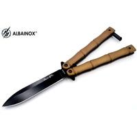 Balisong couteau papillon 23cm - ALBAINOX