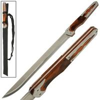 Epée machette CYBORG Ninja 81,5cm - Full tang