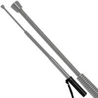 Matraque telescopique 55cm baton - Flexible à ressort.