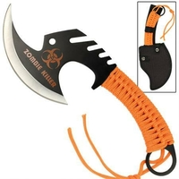 Hachette 29cm Zombie Killer - orange full tang