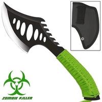 Hachette Zombie 27cm - Full tang acier inox