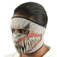 Masque en néoprène - Design Baraka de Mortal Kombat.