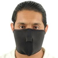 Masque en néoprène, airsoft, moto, biker - noir.